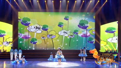 第十九届全国校园春节大联欢语言专场朗诵《梦想的声音》