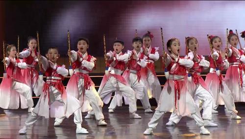 第十九届全国校园春节大联欢语言专场情景表演《浓墨中国韵》
