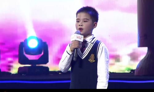 第十九届全国校园春节大联欢语言专场朗诵《爱的生命之歌》