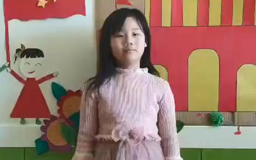 """山东潍坊金话筒口才 唐宇萱 《为""""逆行者""""点赞》"""
